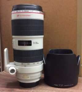 Canon 70-200mm f2.8 IS II