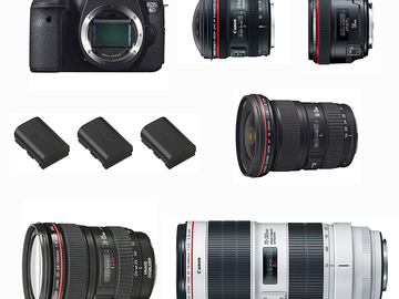 Canon EOS 6D Ultimate Package (5x Lenses)