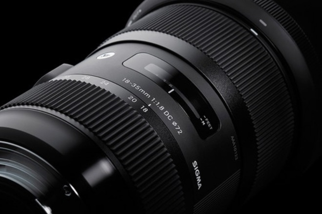 Sigma 18-35mm f/1.8 - Canon EF Mount