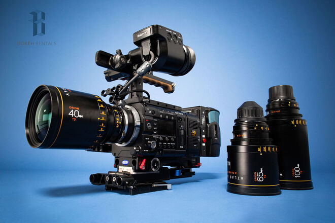 Sony PMW-F55 CineAlta 4K Cinema Camera w/ Atlas Anamorphics!
