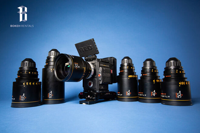 Red Gemini DSMC2 w/ Atlas Orion Anamorphic 6-Lens Set