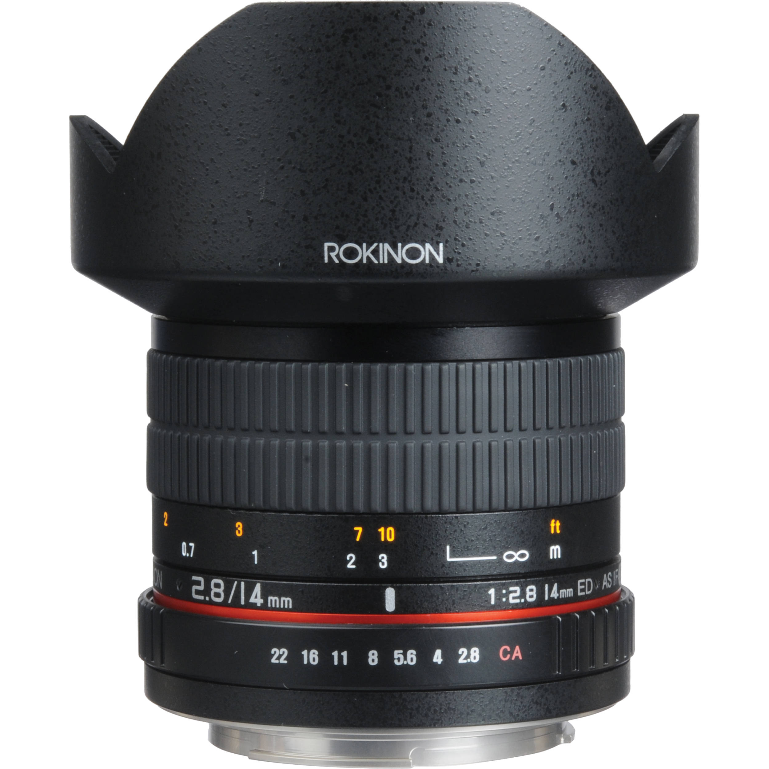 Rokinon 14mm f/2.8 IF ED UMC Lens For EF