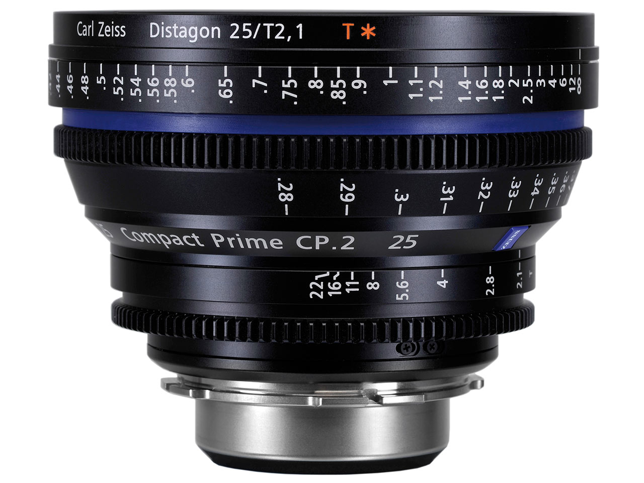 Zeiss Compact Prime CP.2 25mm T2.1 Cine Lens