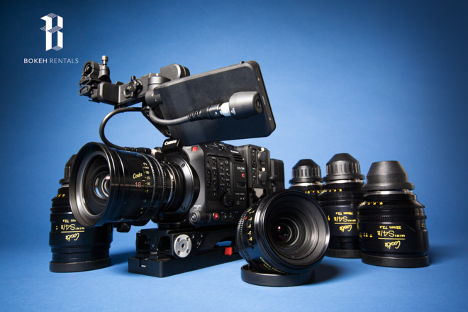 Cooke Mini S4/I Canon EOS 5D Mark III Package