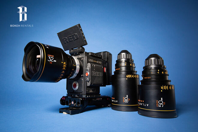 Red Gemini DSMC2 w/ Atlas Orion Anamorphic Lens Set B
