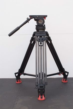 Sachtler Video 20 P Tripod Head w/ Carbon Fiber Legs