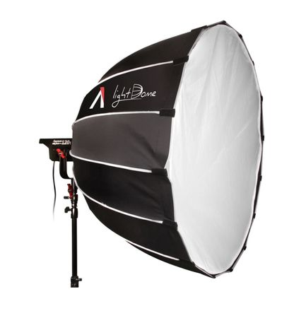 Aputure 300d Lightstorm with Light Dome