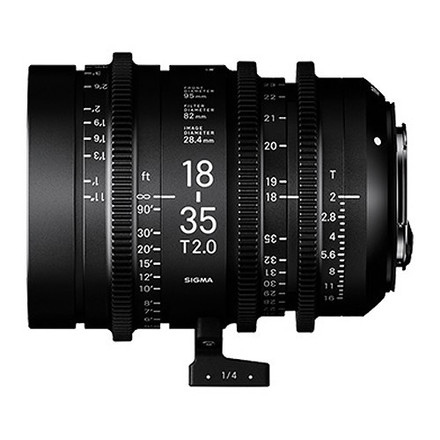 Sigma Cine Zooms 18-35 T2 & 50-100 T2 (ND's Included)