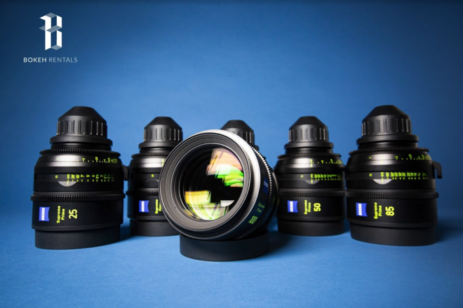 Zeiss Supreme Prime 6 Lens Package!