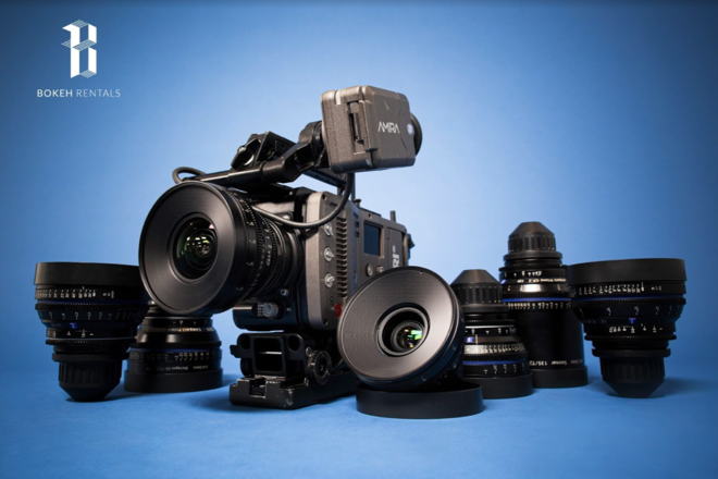 Zeiss Compact Prime 7 Lens Arri Amira Package