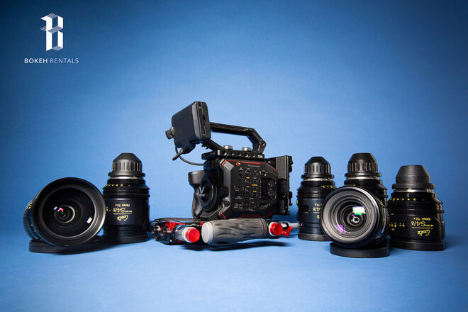 Panasonic EVA 1 w/ Cooke Mini S4 Set