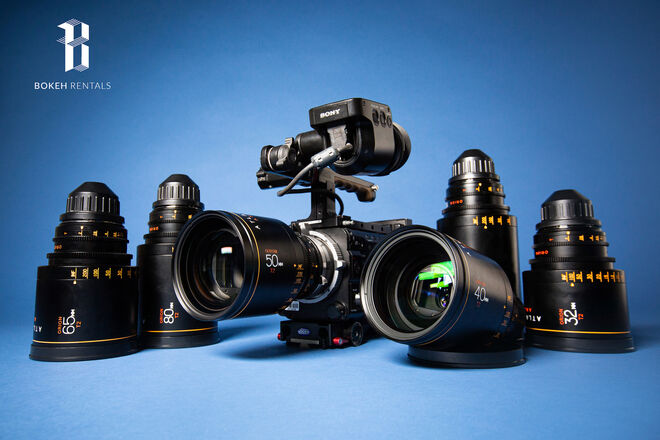 Sony F55 w/ Atlas Orion Anamorphic 6-Lens Set