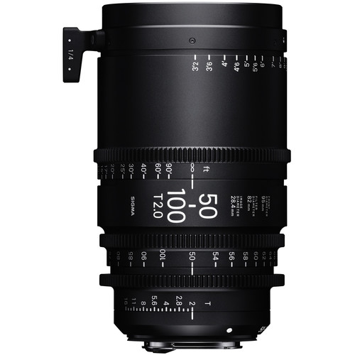 Sigma 50-100mm T2 High-Speed Zoom Lens