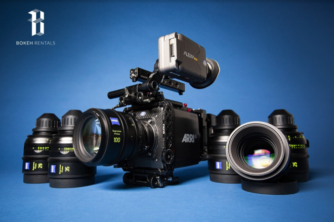 Arri Alexa Mini and Supreme Prime 6 Lens Bundle!