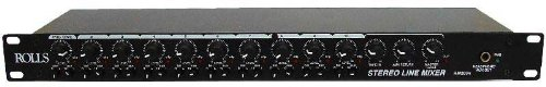 Rolls RM203 Stereo Line 10 Channel Mixer