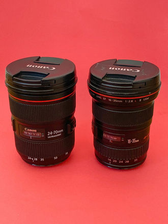 TWO LENSES -- Canon EF 24-70mm + 16-35 (both f/2.8 L II)