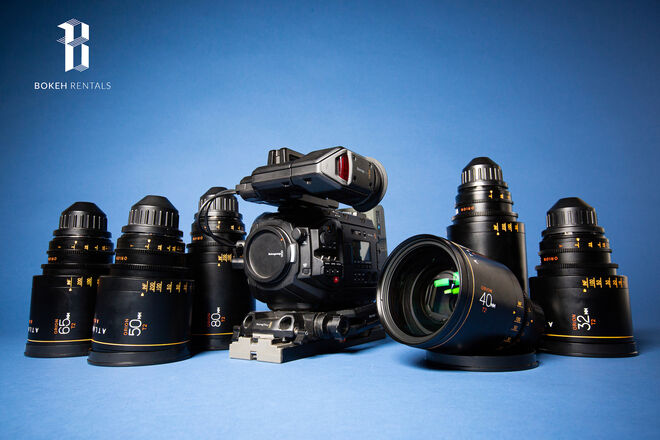 Blackmagic Ursa Mini G1 w/ Atlas Orion Anamorphic 6-Lens Set