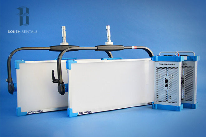 TWO ARRI S60-C SkyPanel Package w/ Chimera Option!