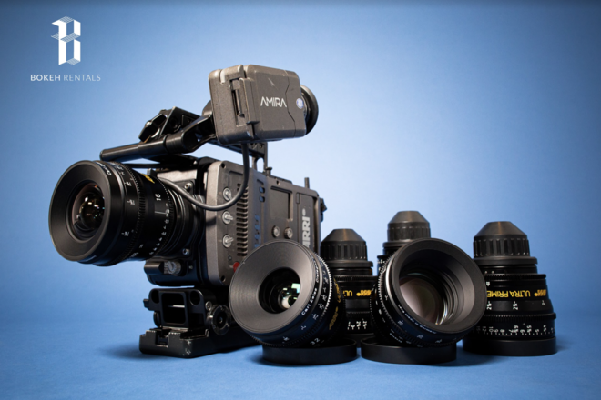 ARRI Amira w/ ARRI Ultra Prime Lens Set Package!