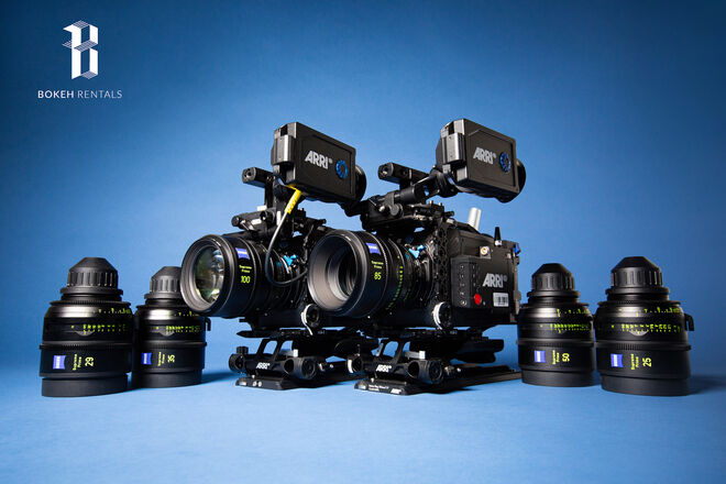 X2 Alexa Mini LF w/ Zeiss Supreme Prime 6 Lens Set
