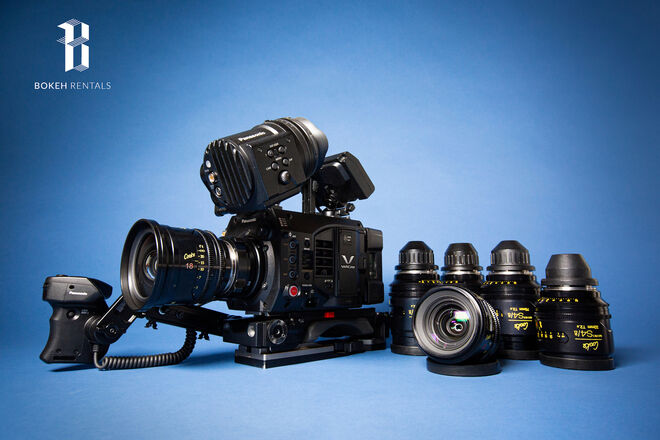 Panasonic Varicam LT 4K S35 w/ Cooke Mini S4 Set