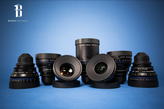 Zeiss Compact Prime CP.2 7 Lens Set!