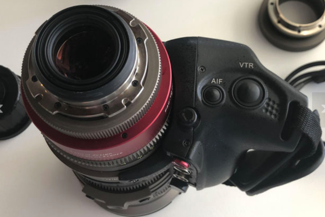 Angenieux EZ 2 15-40mm T2 w/ ENG SERVO GRIP