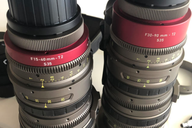 Angenieux EZ-1 30-90mm T2 & EZ-2 15-40 T2 Zooms