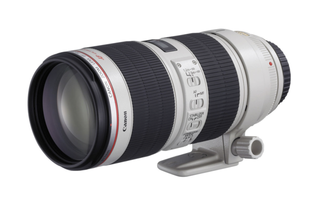 Canon 70-200 f/2.8 II with sunshade