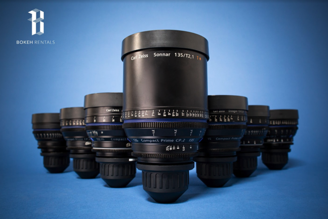 Arri Amira / Zeiss Compact Prime 7 Lens Package