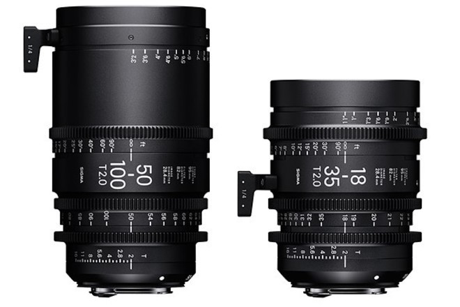 Sigma Cine Zoom SET + ND (FREE DELIVERY)